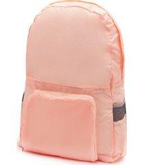 bolso convertible rosado color rosado, talla uni