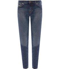 'gracey-ne' raw-trimmed jeans