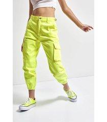 pantalón amarillo 47 street hyper