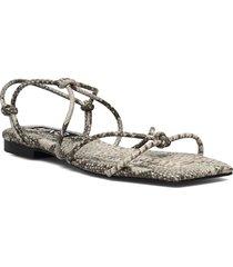rox shoes summer shoes flat sandals grå mango