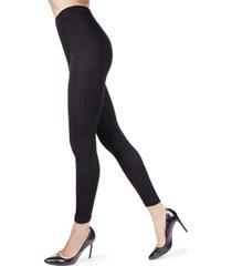 3d cable women's leggings