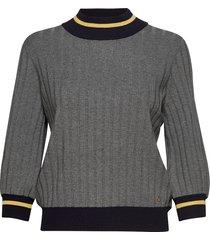 allie knit stickad tröja grå morris lady