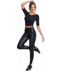 calça legging bonna forma new games feminina