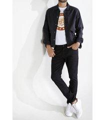 jean skinny plano cintura con pretina