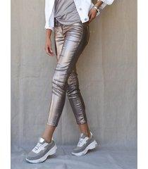 broek amy vermont zilverkleur