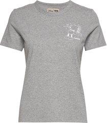 aria t-shirt t-shirts & tops short-sleeved grijs wood wood