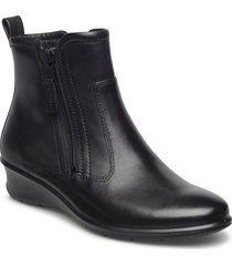 felicia shoes boots ankle boots ankle boot - flat svart ecco