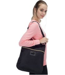 bolsa puma core seasonal shopper - feminina - preto