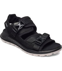 exowrap w shoes summer shoes flat sandals svart ecco