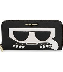 peeking karl continental wallet