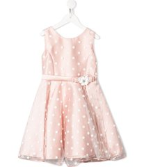 abel & lula mikado tulle dress - pink