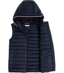 chaleco th essential packable azul tommy hilfiger