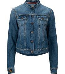 jeansjacka rudy studded jacket
