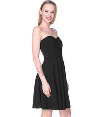 sukienka gorsetowa arabela czarna