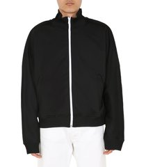 maison margiela sweatshirt with zip