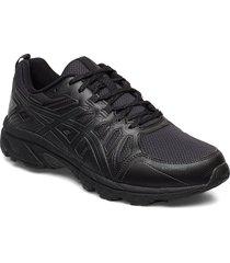 gel-venture 7 wp shoes sport shoes running shoes svart asics