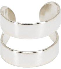 women's ragen jewels double layer ear cuff
