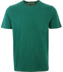 ymc wild ones pocket t-shirt - teal p6lad