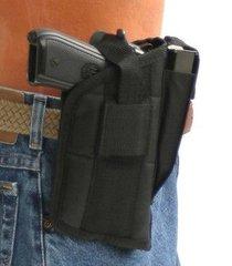 glock 20,21,37 w/ tactical light | nylon gun outside open carry hip belt holster