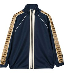 gucci blue bomber jacket