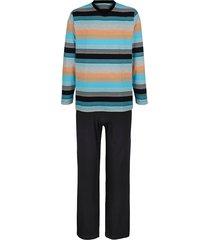 pyjama g gregory 1 x zwart/turquoise/oranje