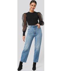 abrand a venice straight jeans - blue