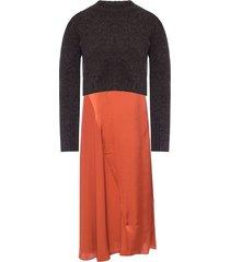 ageta dress and sweater set