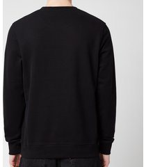 belstaff men's 1924 sweatshirt - black/white - xxl