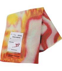 x kenny scharf wool scarf