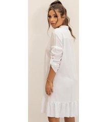 vestido b'bonnie chemise feminino - feminino