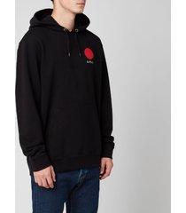 edwin men's japanese sun hoodie - black - xl