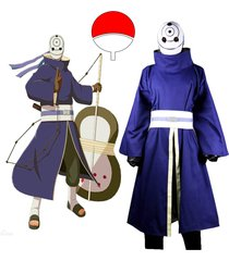 naruto shippuden uchiha obito cosplay costume japanese anime outfit