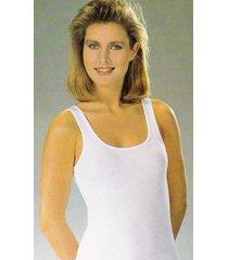 twentini dames hemd elastische katoen-xl-wit