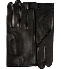 prada unlined gloves - black
