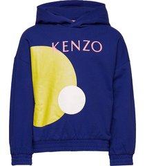 julie hoodie trui blauw kenzo
