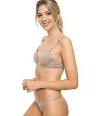 conjunto beige cocot push up