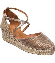 caude_21_rad_lmt sandalette med klack espadrilles guld unisa