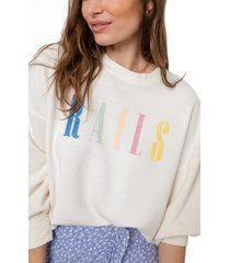 women's rails signature sweatshirt