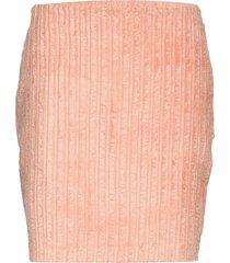 heston fashion cord kort kjol rosa whyred