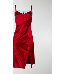 y/project twisted slip dress