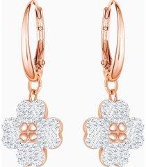 orecchini latisha, bianco, placcato oro rosa