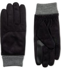 isotoner signature men's smartdri gloves