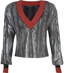 blusa braid (cinza escuro, gg)