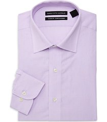 classic-fit micro print dress shirt