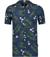 kultivate shirt ka papu overhemden blauw