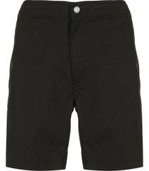 onia chino style swim shorts - black