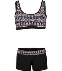 bikini a bustier minimizer (set 2 pezzi) (rosa) - bpc bonprix collection