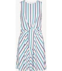 vestido barbara knot multicolor tommy hilfiger