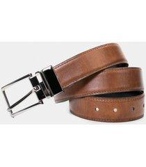 cinturón arcangelo doble faz de cuero