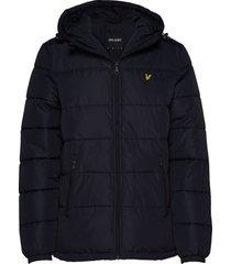 wadded jacket fodrad jacka svart lyle & scott